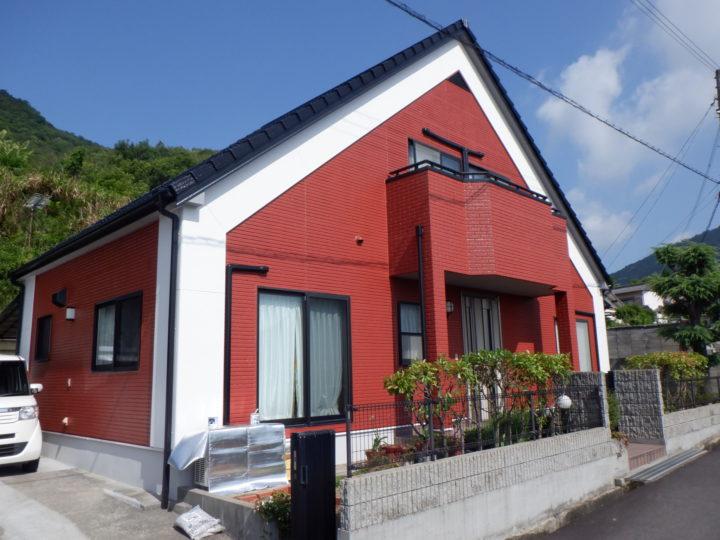 香川県高松市国分寺町O様邸 外壁塗装工事