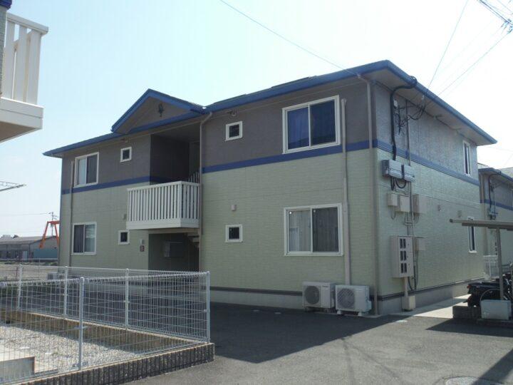 香川県高松市林町N様邸 アパート 外壁塗装/屋根塗装