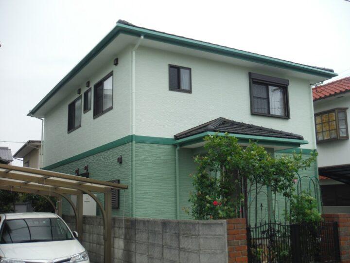 香川県高松市上之町M様邸 外壁塗装