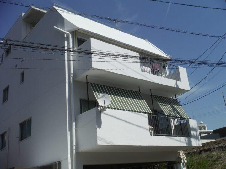 香川県高松市西宝町K様邸 南面外壁/防水工事