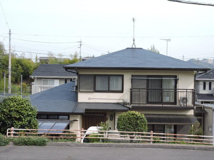 香川県高松市牟礼町N様邸 屋根塗装工事