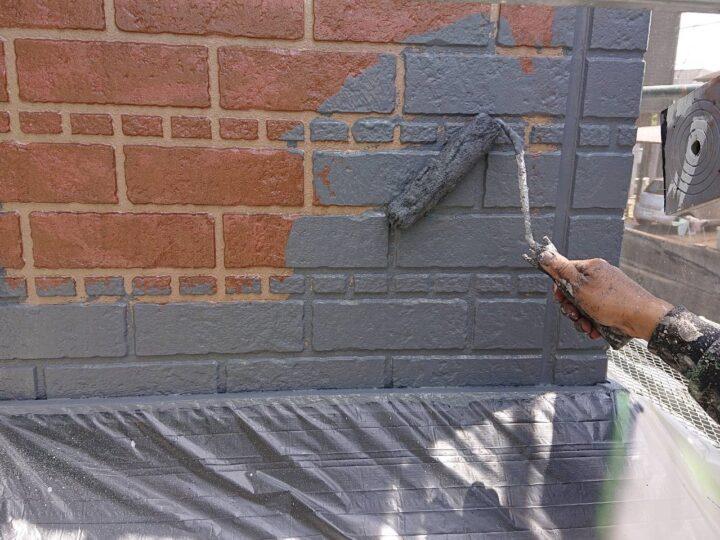 外壁下部塗装