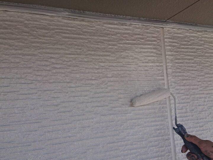 外壁上部塗装