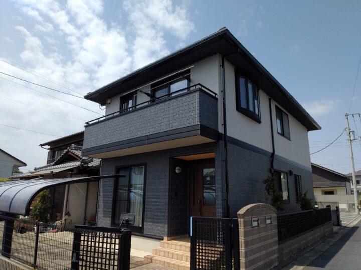 香川県高松市林町I様邸 外壁塗装